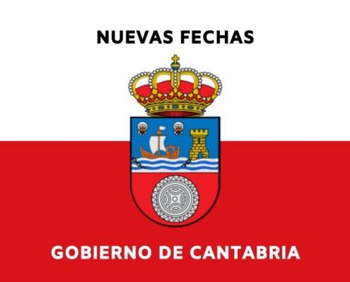 Confirmadas nuevas fechas oposiciones Cantabria