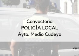 Convocatoria-que-abre-el-plazo-de-inscripcion-Policia-Local-Medio-Cudeyo Nuevo plazo inscripcion oposicion Auxiliares Policia Local Ribamontan al Mar