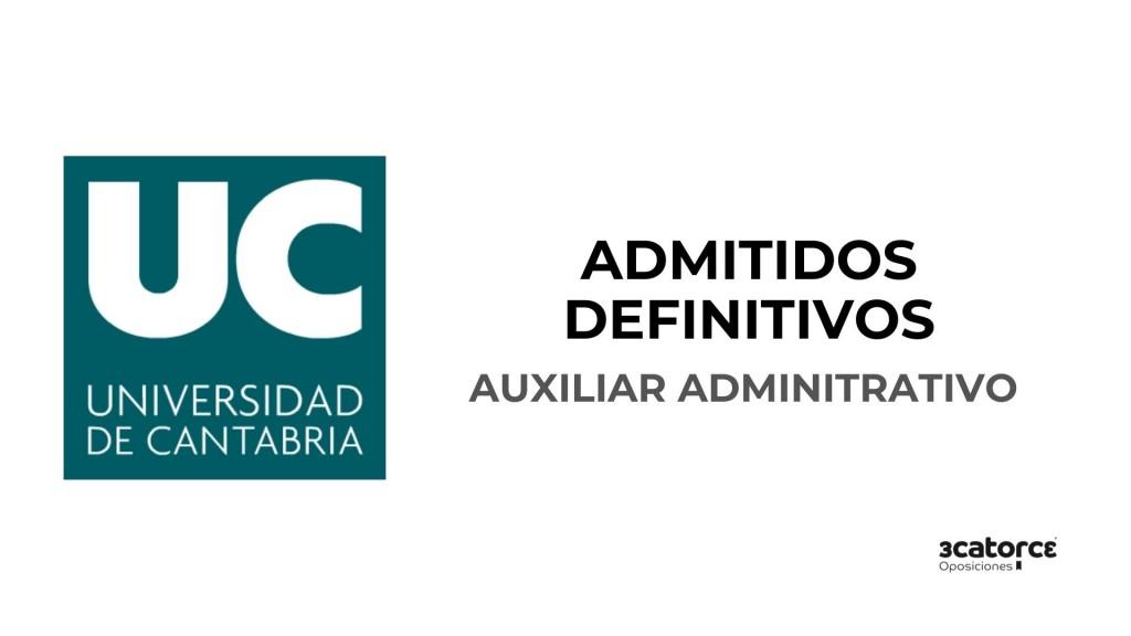 Lista-de-admitidos-definitivos-auxiliar-administrativo-Universidad-de-Cantabria Lista de admitidos definitivos auxiliar administrativo Universidad de Cantabria