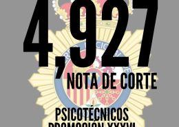 Nota-de-corte-psicotecnicos-CNP-2020-1 Situación actual de vacantes Guardia Civil en reserva