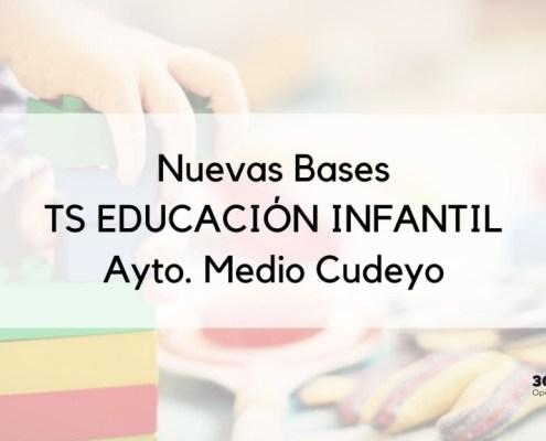 nuevas bases para la constitucion de bolsa Tecnico Educacion Infantil Medio Cudeyo Cantabria