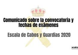 Comunicado-informativo-sobre-la-publicacion-de-la-convocatoria-y-prevision-de-examenes-2020-guardia-civil Academia Oposicion Guardia Civil Cantabria