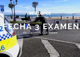Fecha-tercer-examen-oposiciones-Policia-Local-Santander Oposición Policia Local Santander