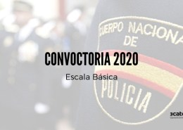Publicada-en-el-BOE-la-convocatoria-policia-nacional-2020-Escala-Basica Curso oposición policia nacional 2020