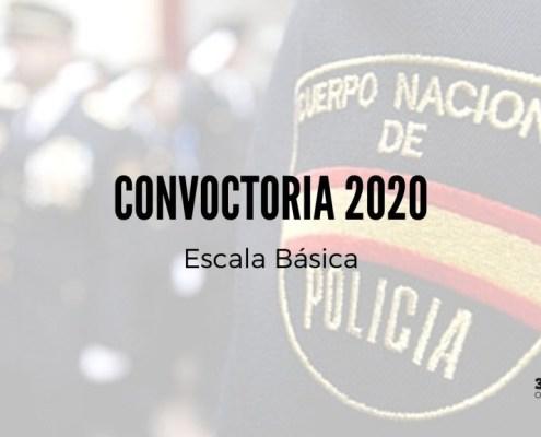 Publicada en el BOE la convocatoria policia nacional 2020 Escala Basica