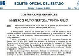 Publicada-en-el-BOE-la-oferta-empleo-publico-Policia-Nacional-2020 Situación actual de vacantes Guardia Civil en reserva