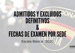 Admitidos-definitivos-escala-basica-policia-nacional-excluidos-y-fechas-de-examen-por-sedes Oposición Policia Nacional