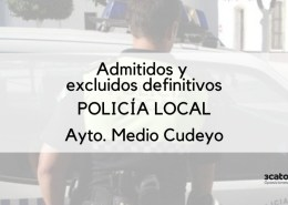 Listado-definitivo-de-admitidos-policia-local-medio-cudeyo Reanudacion del plazo inscripcion oposicion Policia Local Laredo