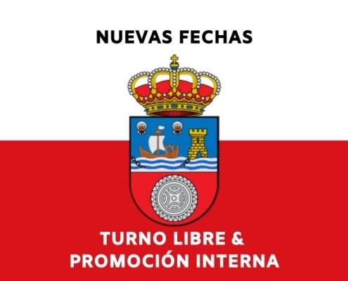 Nuevas fechas oposiciones Gobierno de Cantabria turno libre y promocion interna