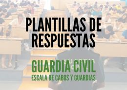 Plantilla-examenes-Guardia-Civil-2020 Reclaman cambios academicos en requisitos guardia civil