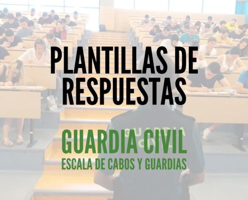 Plantilla examenes Guardia Civil 2020
