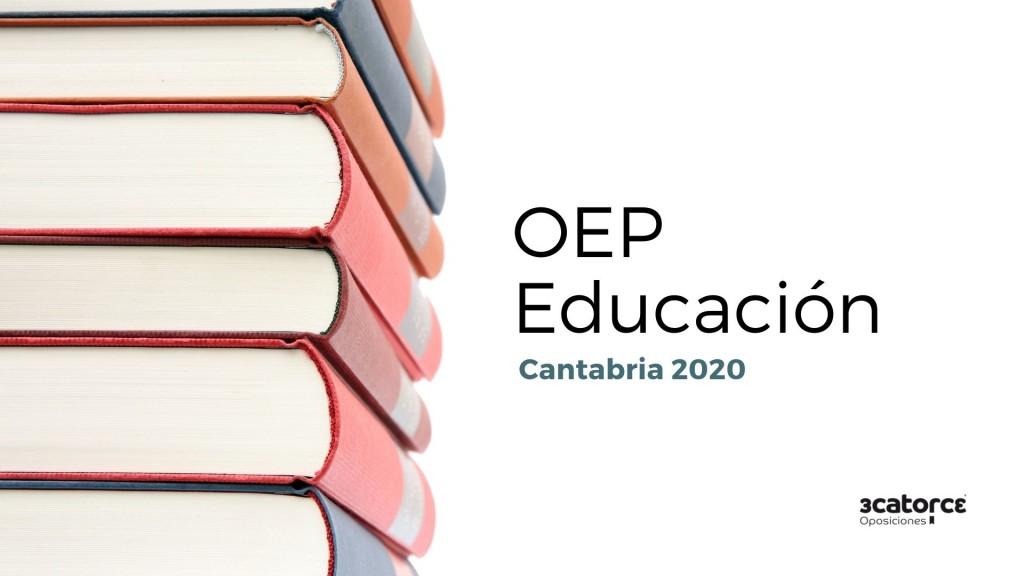 Aprobada-OEP-Educacion-2020-Cantabria Aprobada OEP Educacion 2020 Cantabria