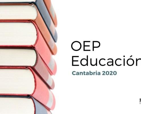 Aprobada OEP Educacion 2020 Cantabria
