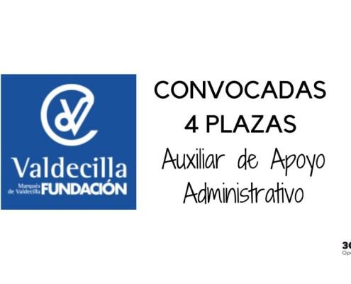 Convocada la oposicion auxiliar administrativo Fundacion Marques de Valcedilla
