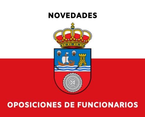 Novedades sobre las oposiciones Gobierno de Cantabria Procesos en marcha de funcionarios