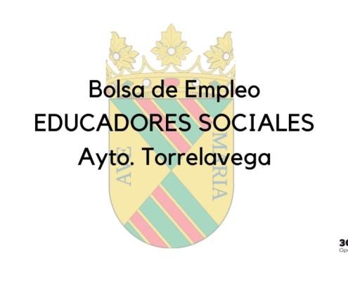 Bases para la constitución de una bolsa empleo Educadores Sociales Torrelavega