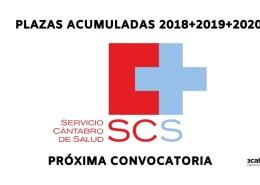 Plazas-proxima-convocatoria-Servicio-Cantabro-Salud Tercer examen oposiciones Cantabria
