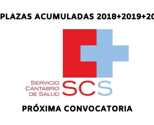 Plazas proxima convocatoria Servicio Cantabro Salud