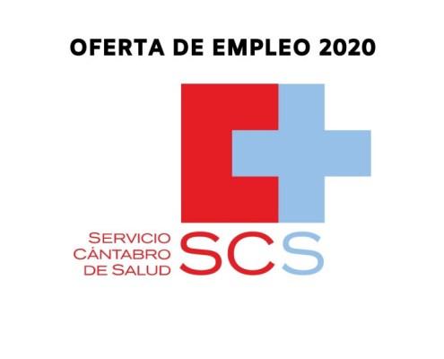 Publicacion Oferta Empleo Publico 2020 SCS