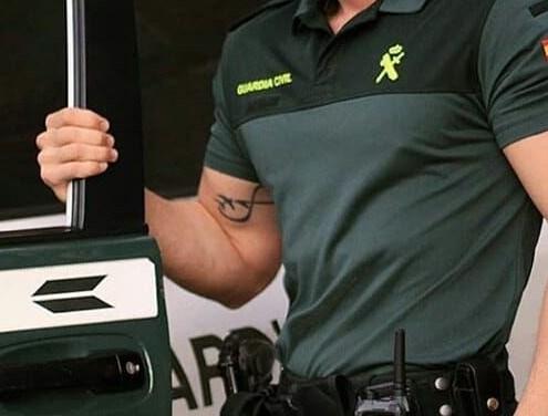 Guardia Civil permite tatuajes pero con ciertas limitaciones