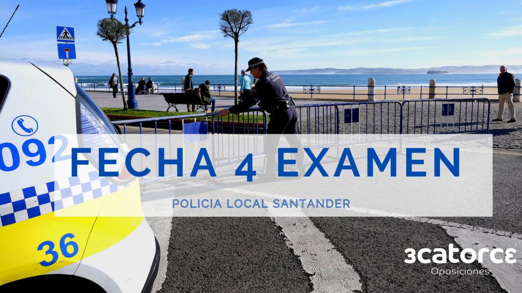 Fecha-cuarto-examen-oposiciones-Policia-Local-Santander Fecha cuarto examen oposiciones Policia Local Santander