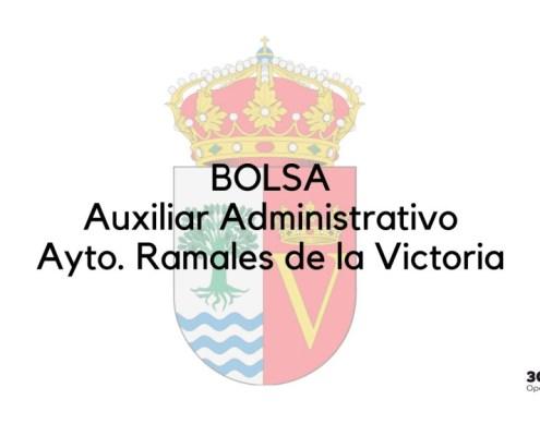 Bases que van a regir la convocatoria oposicion auxiliar administrativo Ramales Cantabria para la constitucion de bolsa de empleo