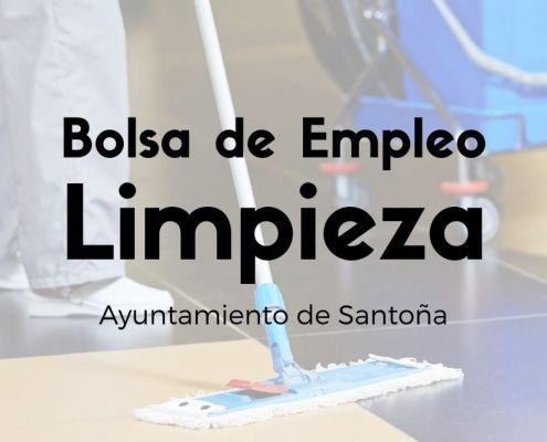 Bases y convocatoria para la constitucion de una bolsa empleo limpieza Santoña Cantabria