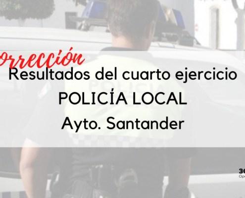 Correccion de resultados de la prueba de psicotecnicos oposicion Policia Local Santander