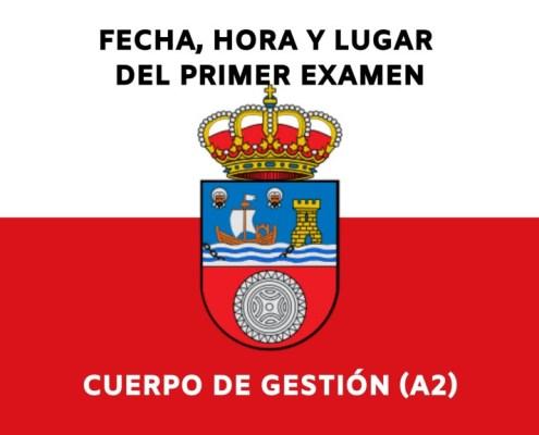 Publicado en el BOC fecha hora y lugar del primer examen Gestion Cantabria
