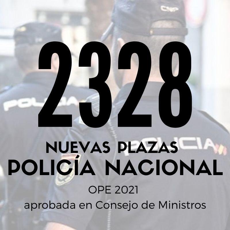 2328-plazas-Policia-Nacional-2021-1 2328 plazas Policia Nacional 2021