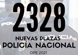 2328-plazas-Policia-Nacional-2021-1 Nuevos cursos oposiciones fuerzas de seguridad y emergencias
