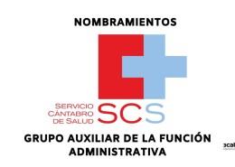 Nombramientos-ultima-convocatoria-oposicion-auxiliar-administrativo-servicio-cantabro-de-salud Confirmadas 45 plazas oposiciones Auxiliar Administrativo SCS 2019