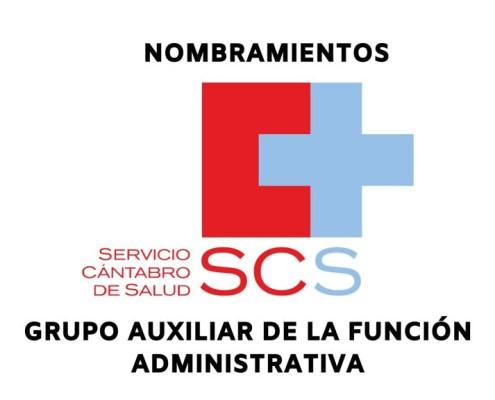 Nombramientos ultima convocatoria oposicion auxiliar administrativo servicio cantabro de salud