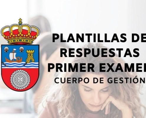 plantilla primer examen oposicion Gestion Gobierno de Cantabria 2021