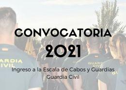 Convocatoria-Guardia-Civil-2021 Preparación pruebas fisicas guardia civil