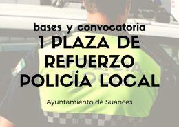 Policia-Local-Oposiciones-una-plaza-de-refuerzo-y-apoyo-Suances Fecha reconocimiento medico oposicion policia local Ayuntamiento Santander