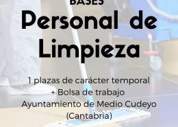 bolsa-de-trabajo-de-limpieza-Cantabria-Medio-Cudeyo-2 Admitidos y excluidos provisionales bolsa de trabajo educación infantil Cantabria Ampuero