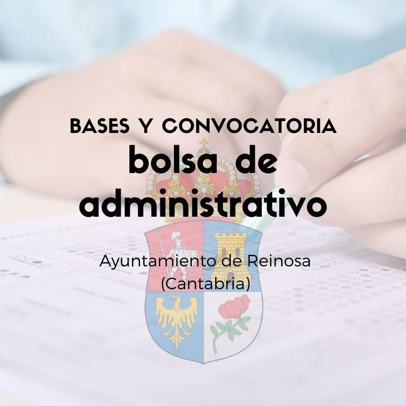 convocatoria-de-bolsa-administrativo-Cantabria-Reinosa convocatoria de bolsa administrativo Cantabria Reinosa
