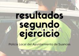notas-segundo-examen-Policia-Local-Suances Nuevos agentes Policia Local Laredo tras catorce años sin oposiciones