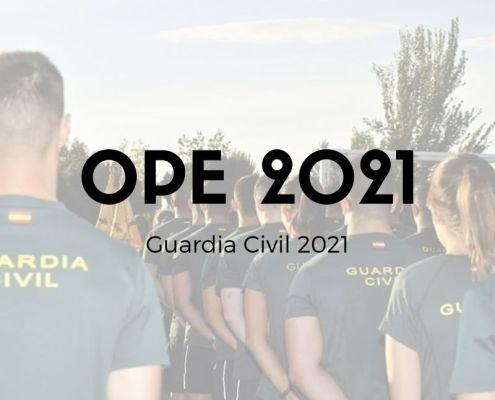 oferta empleo público 2020 guardia civil