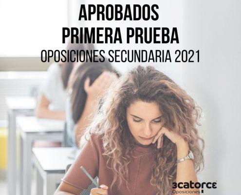 Aprobados primera prueba oposiciones de Secundaria Cantabria