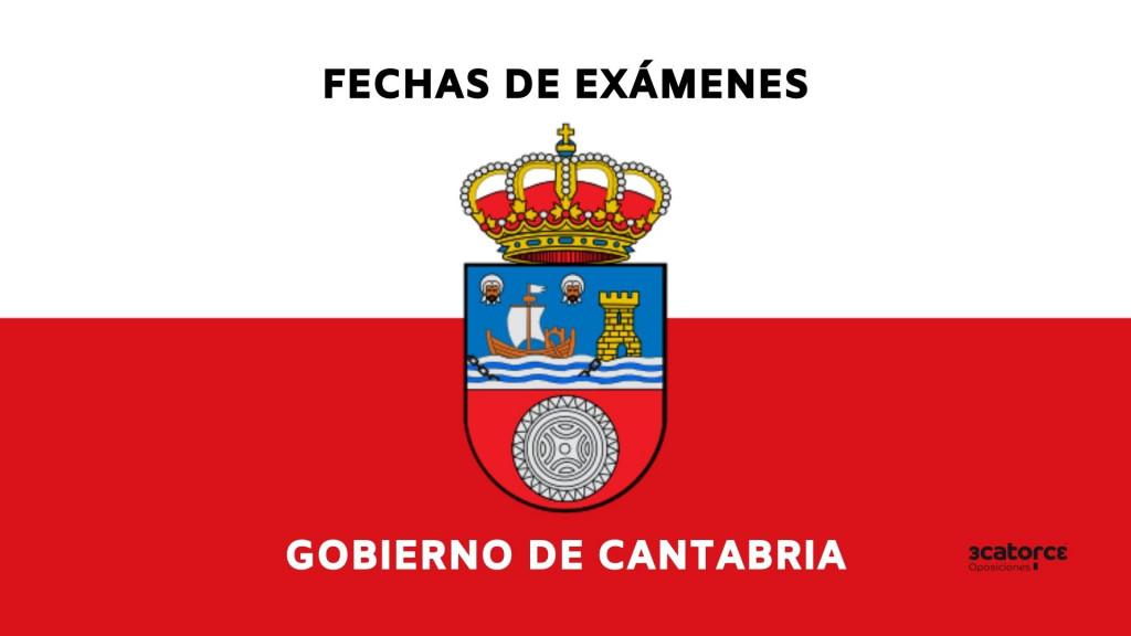 Fechas-oposiciones-Gobierno-de-Cantabria-2021 Oposiciones del Gobierno de Cantabria 2021 examenes en septiembre
