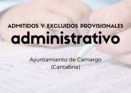 Oposicion-Administrativo-Camargo-Cantabria-Admitidos-y-excluidos-provisionales Oposiciones Cantabria