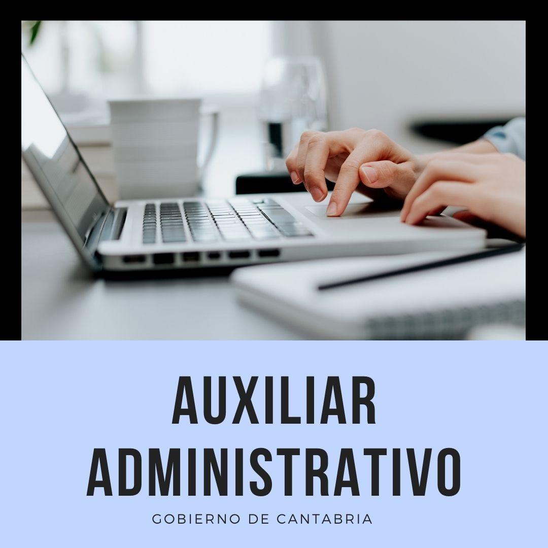 aux-admvo-ope-2020- Oposiciones auxiliar administrativo Cantabria