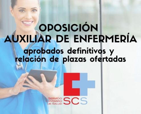 oposicion Auxiliar de Enfermeria Cantabria SCS