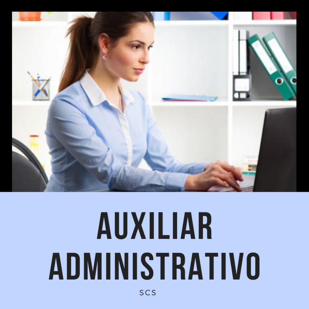 AUXILIAR-SCS convocatoria auxiliar administrativo Cantabria 1 plaza en Barcena de Cicero