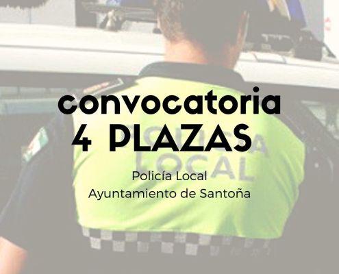 Convocatoria oposiciones policia local Cantabria Reinosa 4 plazas