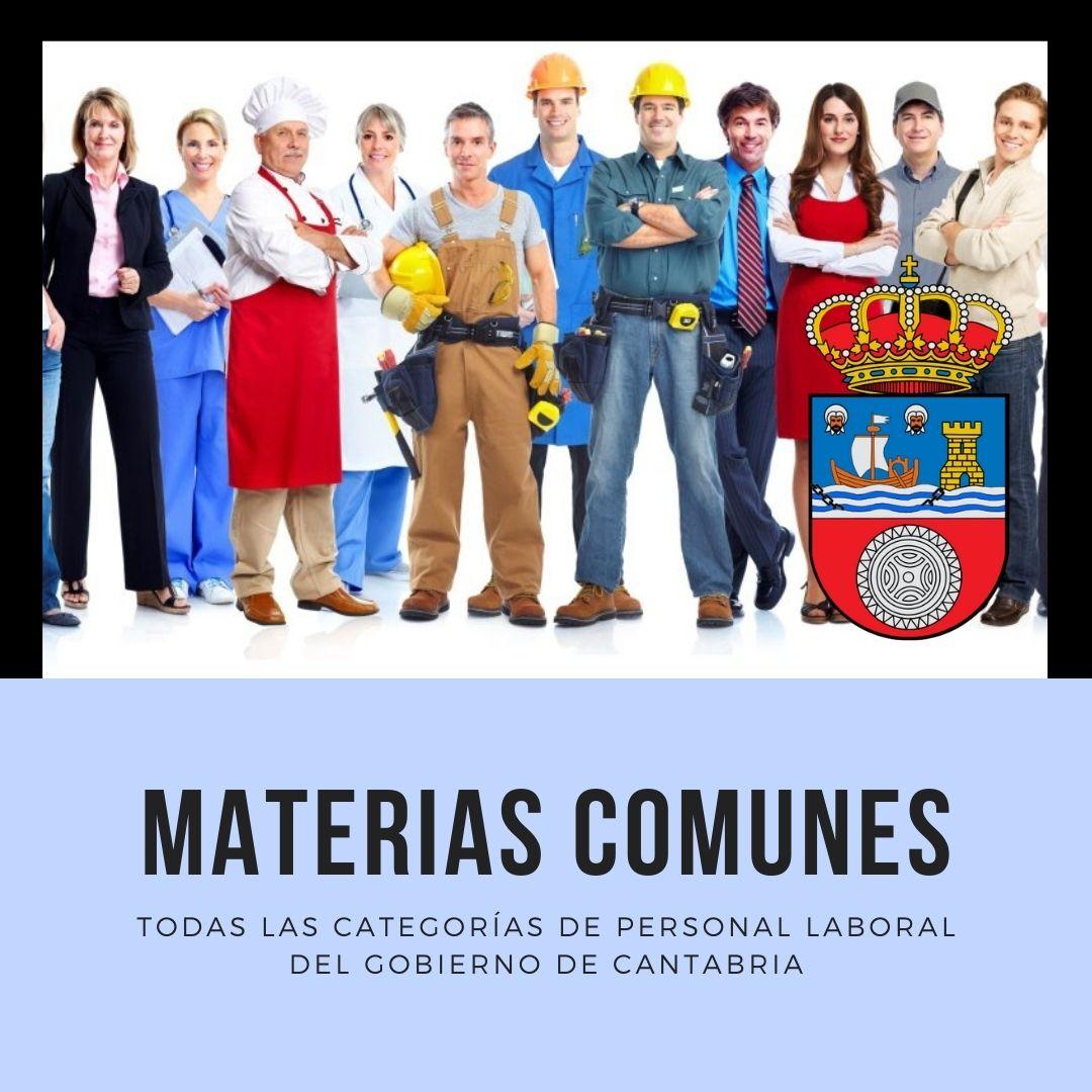 Cursos-gob-cantabria-3catorce materias comunes personal laboral Cantabria curso con clases