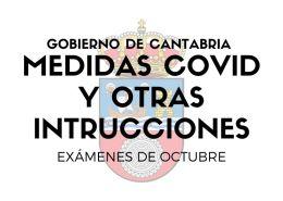 Medidas-covid-examenes-oposiciones-Gobierno-Cantabria-y-otras-instrucciones Academia oposiciones administrativo Cantabria