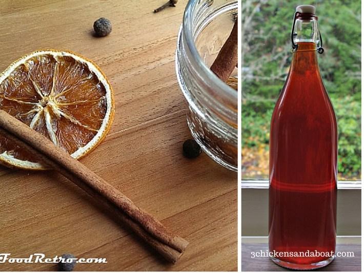 easy homemade gifts, homemade liquor, homemade apple cider,
